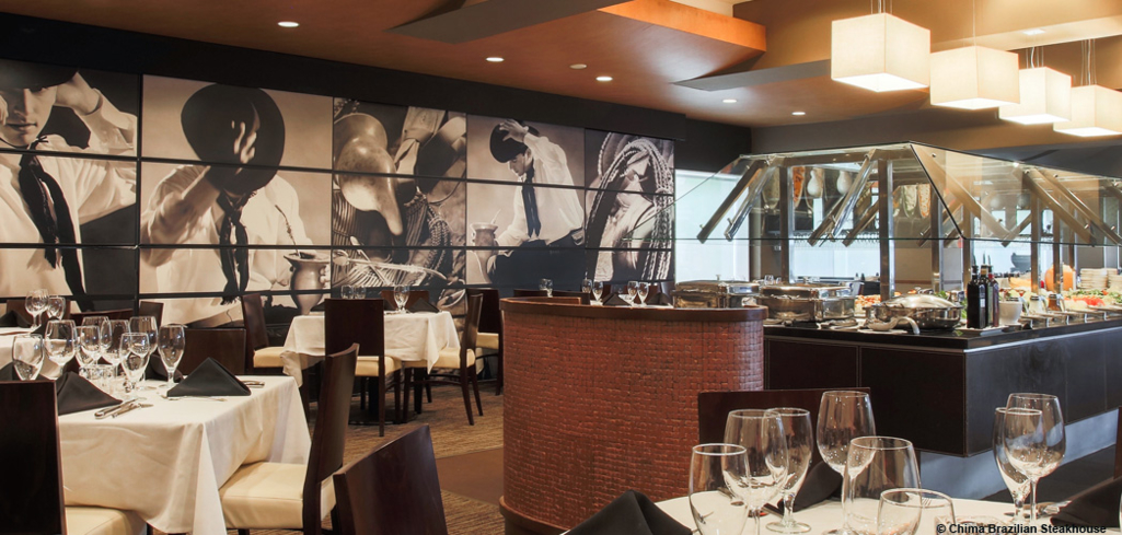 Chima Steakhouse, one of GAYOT's Top 10 Brazilian Restaurants in the U.S.