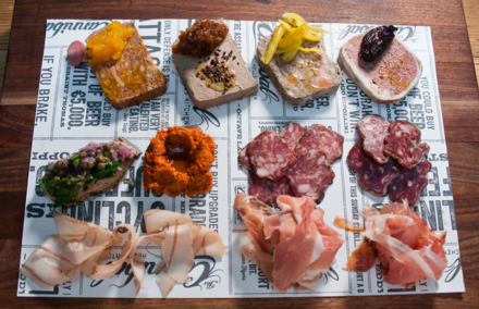 The Cannibal: House-made charcuterie
