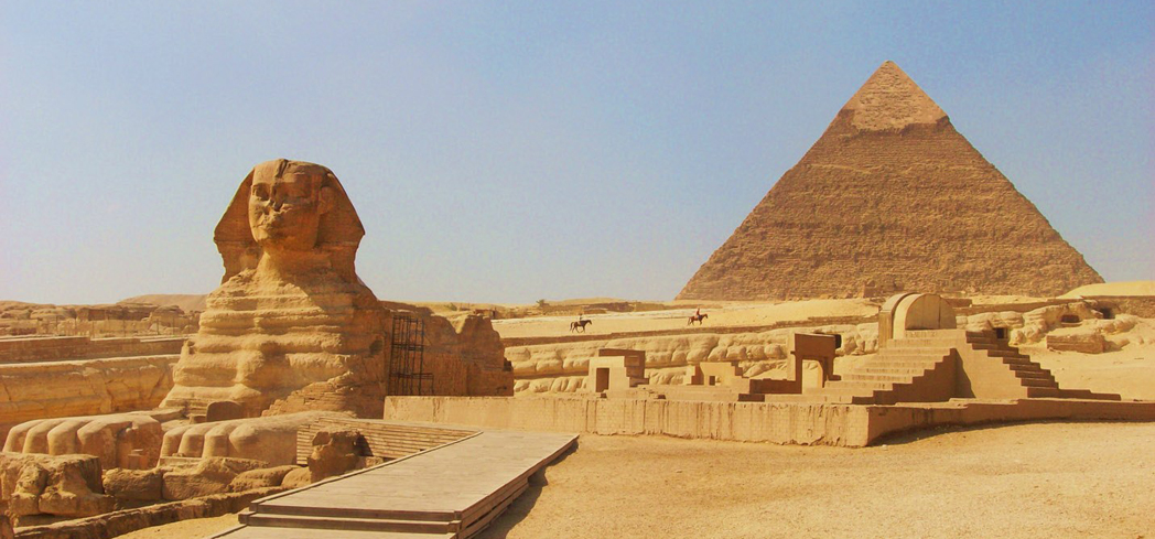 Like Stonehenge, many mysteries surround the construction of the Pyramids of Giza
