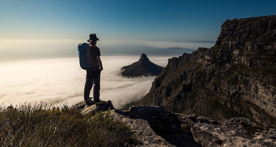 Adventure seekers will love a hike to Table Mountain in Cape Town