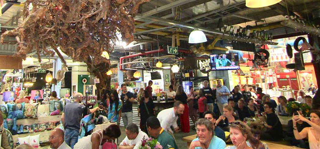 Bay Harbour Market in Cape Town