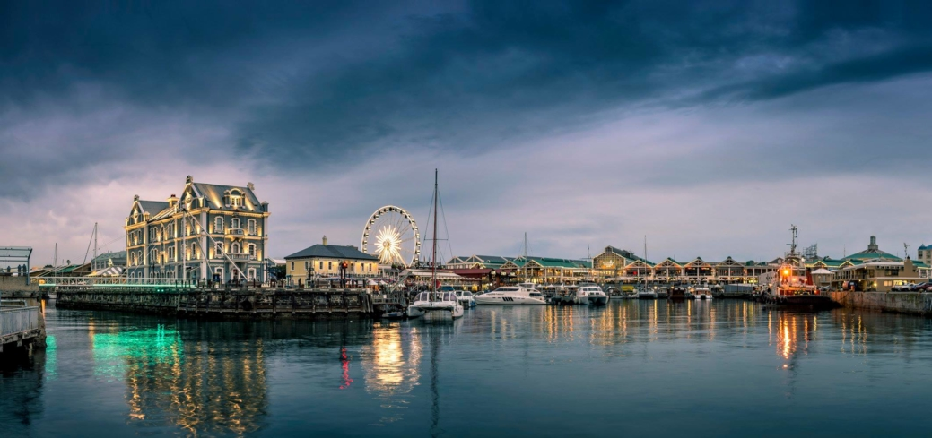 Soak in the city's ambience at V&A Waterfront
