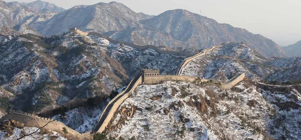 The Great Wall of China is the largest cultural relic humans have ever built