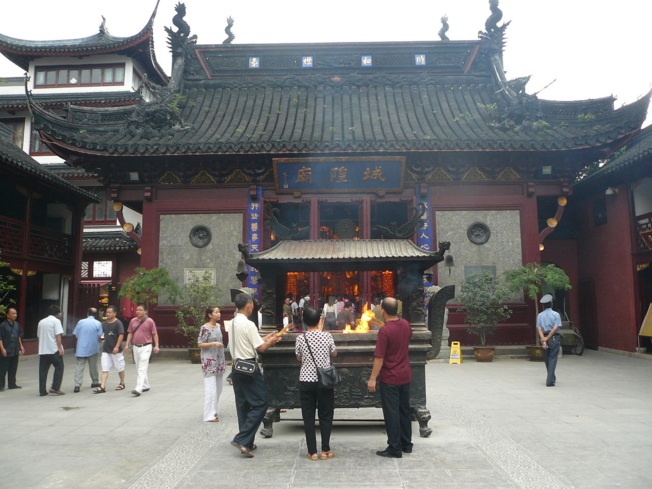 City God Temple in Old City Shanghai