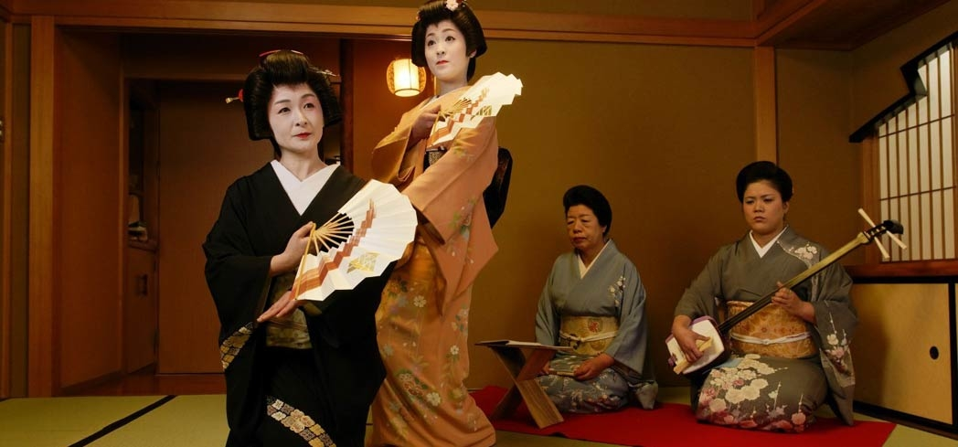 Music and dance are primary forms of arts for geisha to master