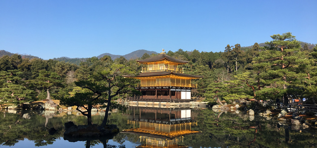 Kinkaku-ji Temple is a UNESCO World Heritage Site