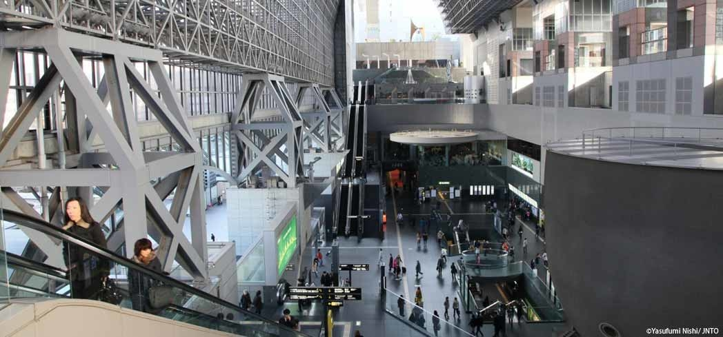 Kyoto Station offers 11 stories of shopping and dining
