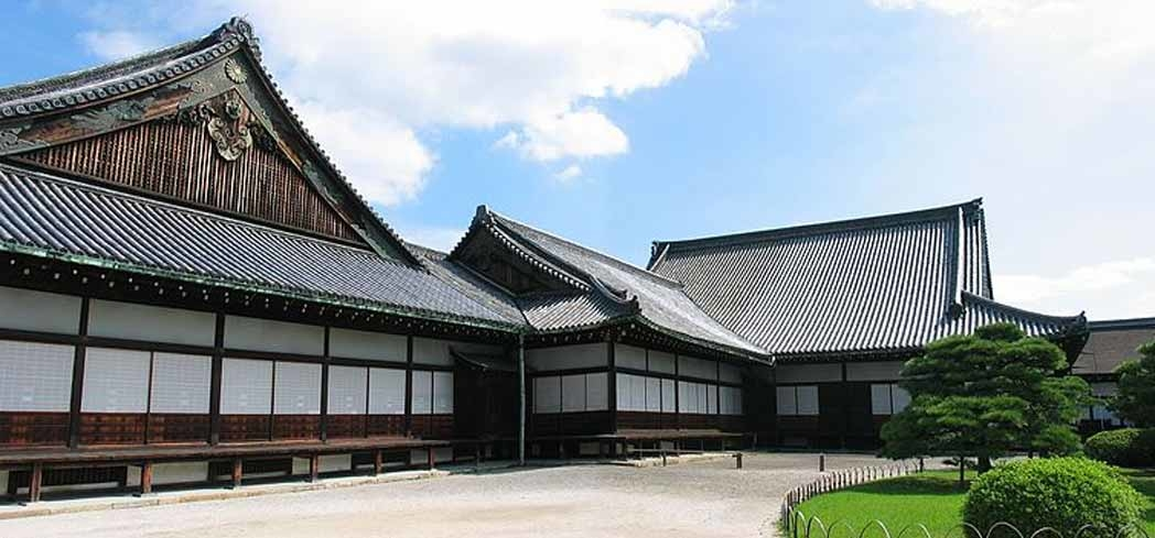 Ninomaru Palace at Nijo Castle in Kyoto