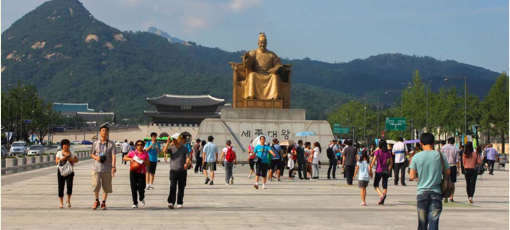 Learn about popular attractions throughout Seoul, South Korea