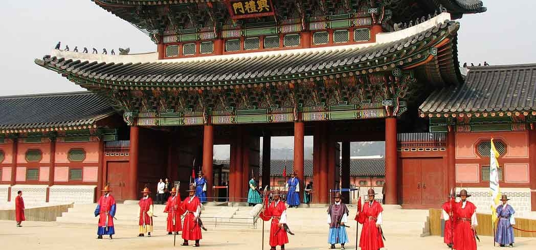 Gyeongbokgung Palace is the largest of Seoul's Five Grand Palaces