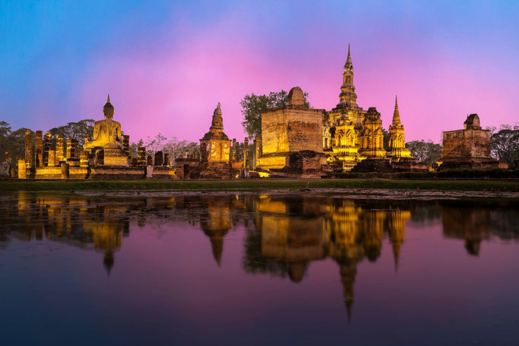 A view of Ayutthaya, a UNESCO World Heritage Site