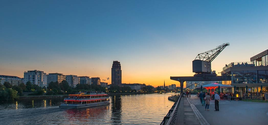 Discover attractions throughout Frankfurt, Germany