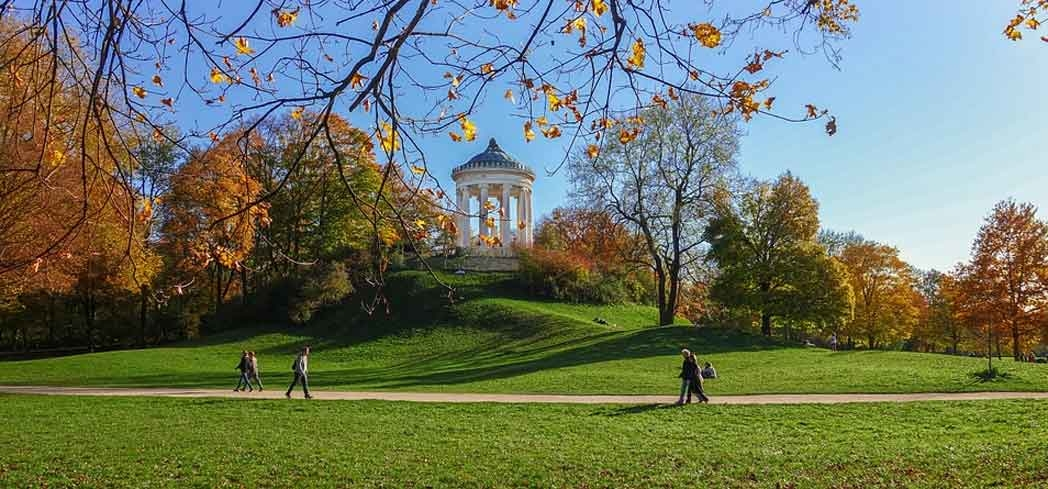 Enjoy a day out at the English Garden in Munich