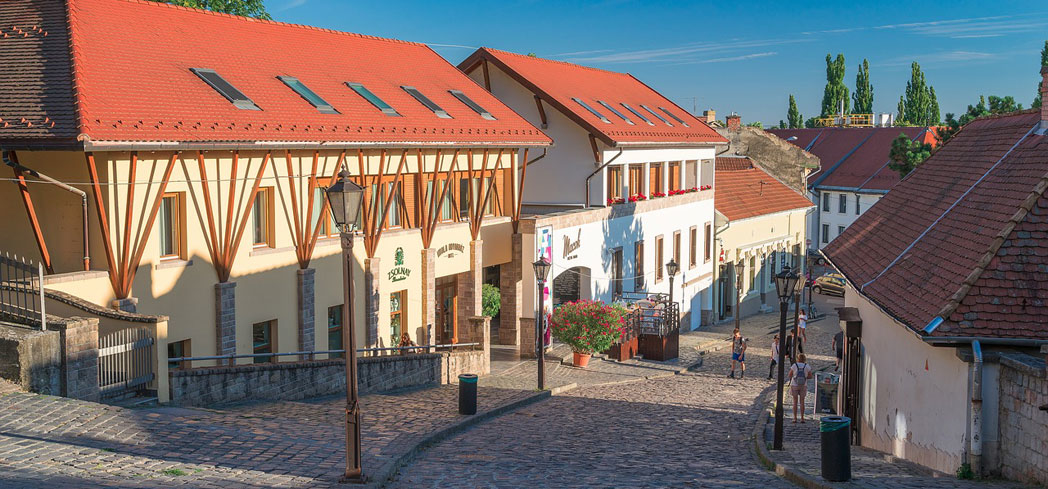 The City of Eger, Hungary