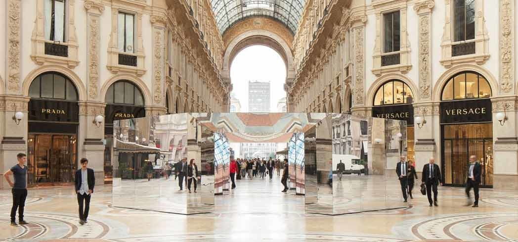 Luxury boutiques fill Galleria Vittorio Emmanuele in Milan