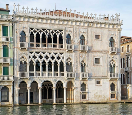 Ca' d'Oro on the Grand Canal in Venice, Italy