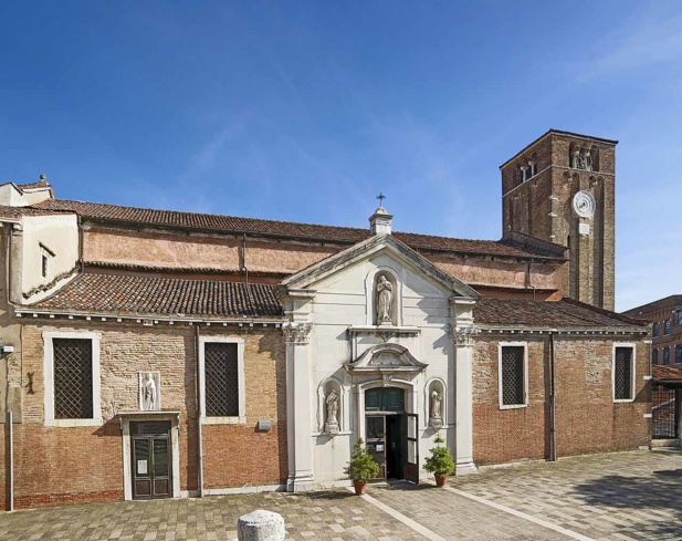 Church of San Nicolò dei Mendicoli in Venice, Italy