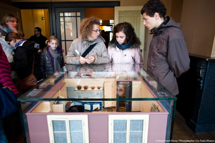 A look inside the Anne Frank House in Amsterdam