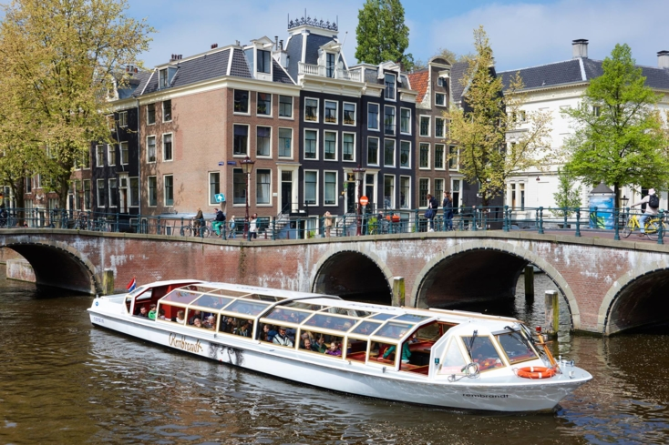 Cruise the canals of Amsterdam with the Stromma Canal Company