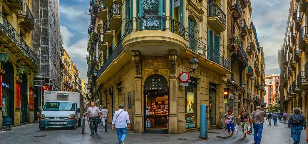 Explore the narrow streets of Barcelona's Gothic Quarter