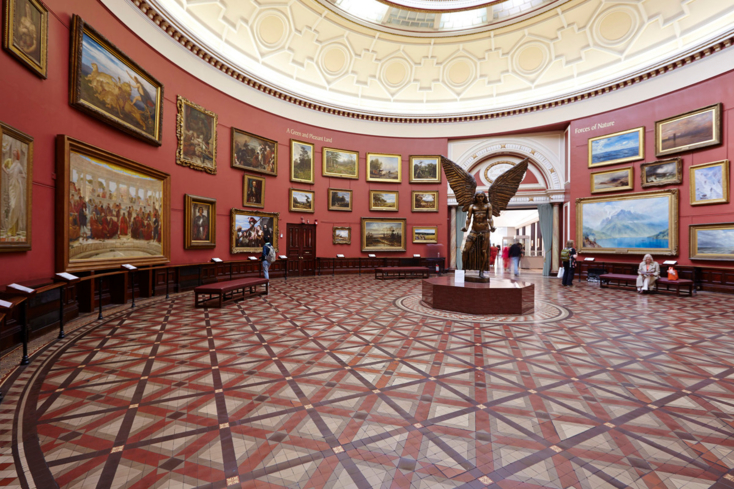 The Round Room at the Birmingham Museums & Art Gallery