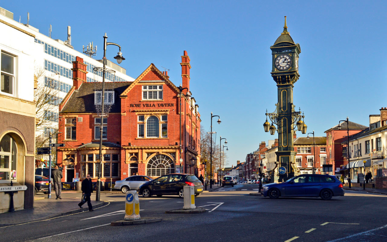 A view of Jewellery Quarter in Birmingham, England