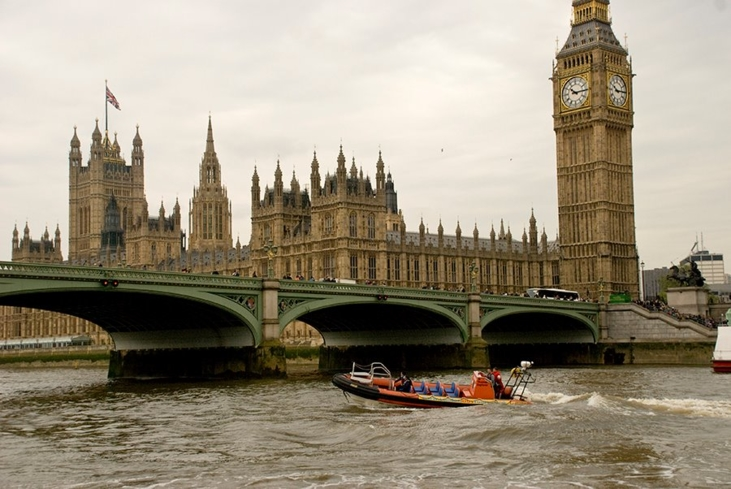 Go on a high speed rib tour of London