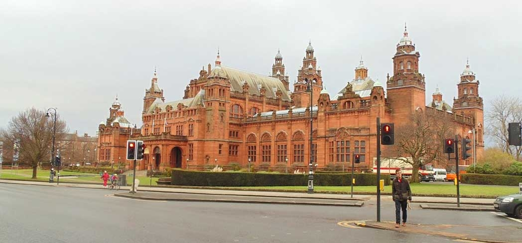 The exterior of the Kelvingrove Art Gallery and Museum