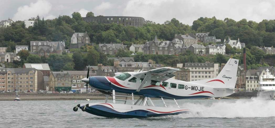 Go sight-seeing aboard a seaplane with Loch Lomond