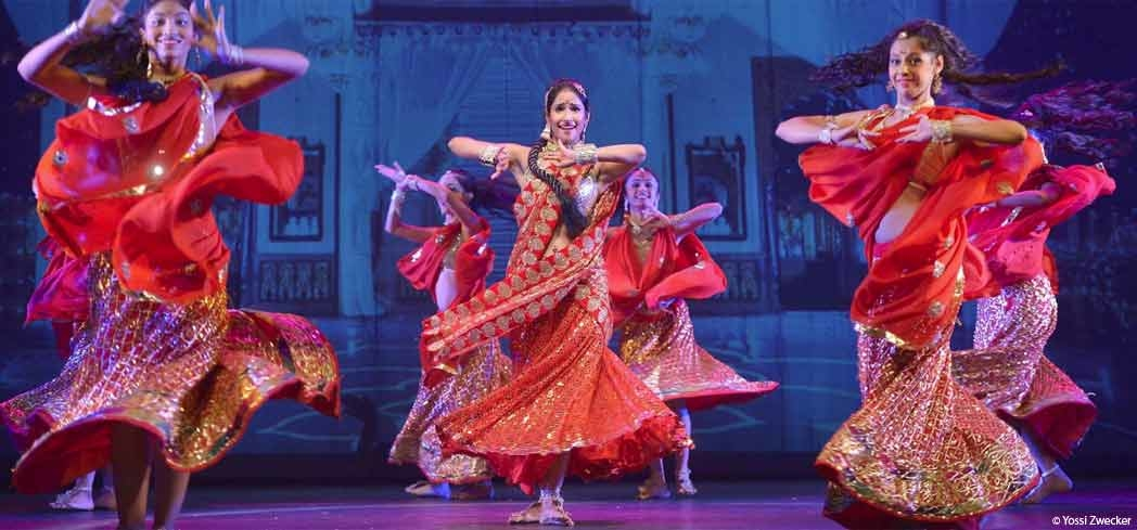 The Road to Bollywood performed in 2015 at the Suzanne Dellal Centre