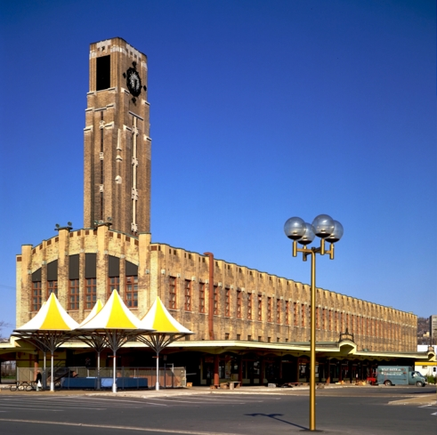 The Art Deco exterior of Atwater Market in Montréal