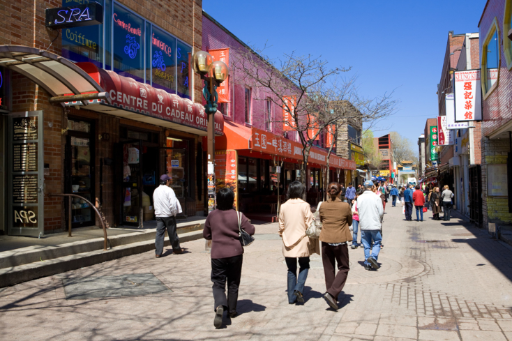 A look at Chinatown in Montréal