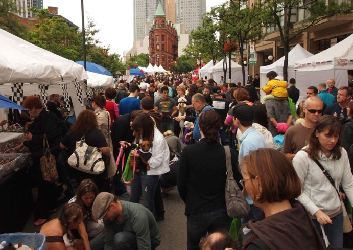 Discover St. Lawrence Market in Toronto during a Bruce Bell Tour