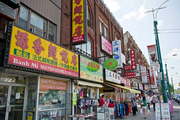 Peruse shops, markets and restaurants in Toronto's Chinatown