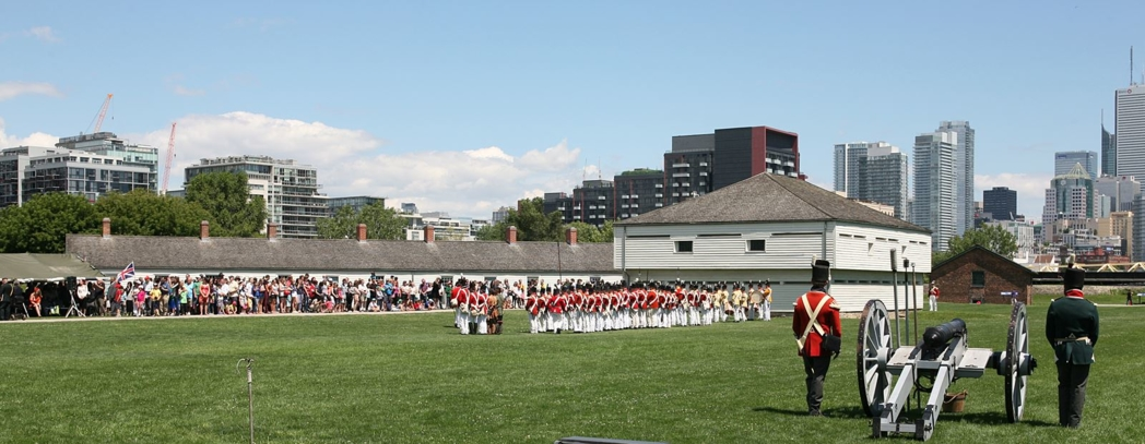 The Fort York Guard at the Fort York National Historic Site