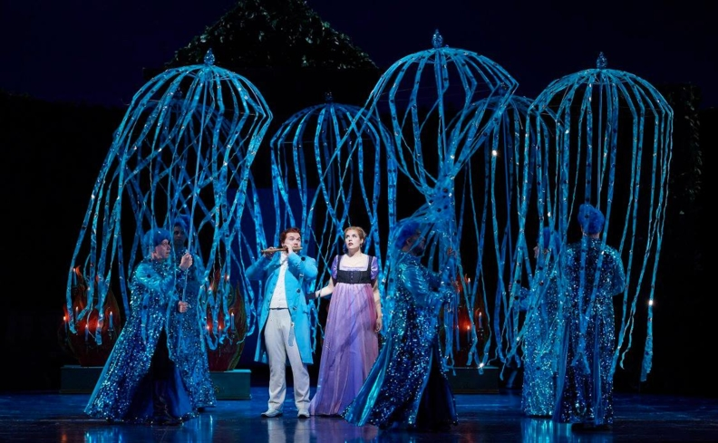 The Magic Flute presented by the Canadian Opera Company at the Four Seasons Centre for the Performing Arts