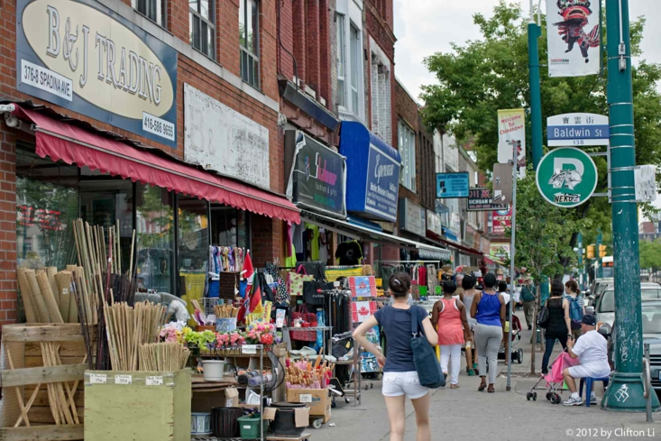 Shop and dine in Toronto's Kensington Market neighborhood