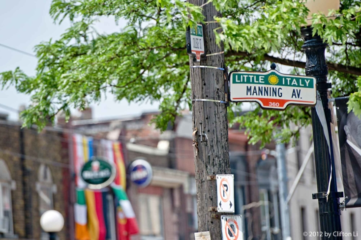 Explore the shops and restaurants in Toronto's Little Italy