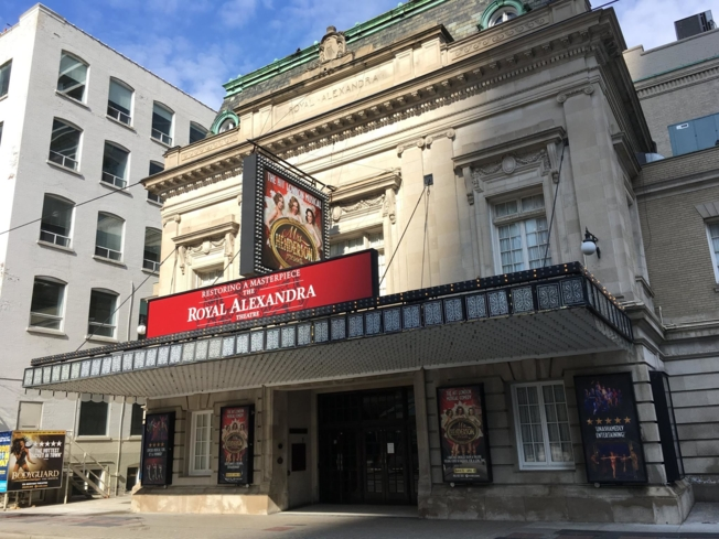 The Royal Alexandra Theatre in Toronto