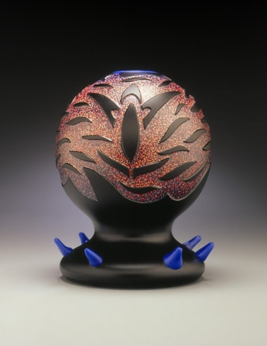 View beautiful pieces of glass art at the Sandra Ainsley Gallery