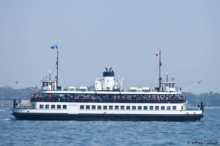 Enjoy a ferry ride to the Toronto Islands
