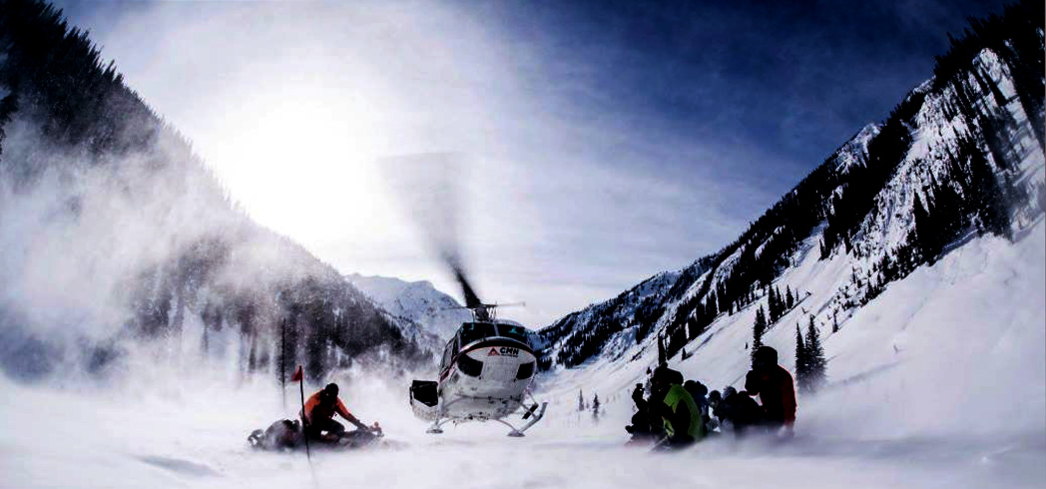 Heli-skiing with Canadian Mountain Holidays