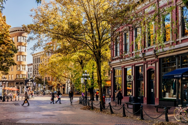 Gastown is Vancouver's oldest neighborhood