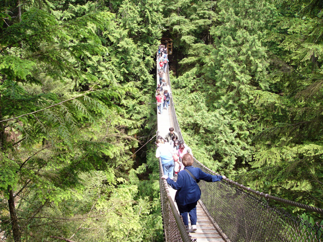 Walk the Lynn Canyon Suspension Bridge in Vancouver