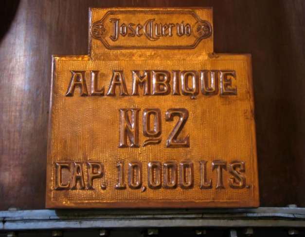 Detail of an Alembic at the Jose Cuervo Distillery in Tequila