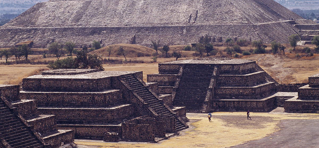 Teotihuacan was an ancient Mesoamerican city that was established around 100 BC