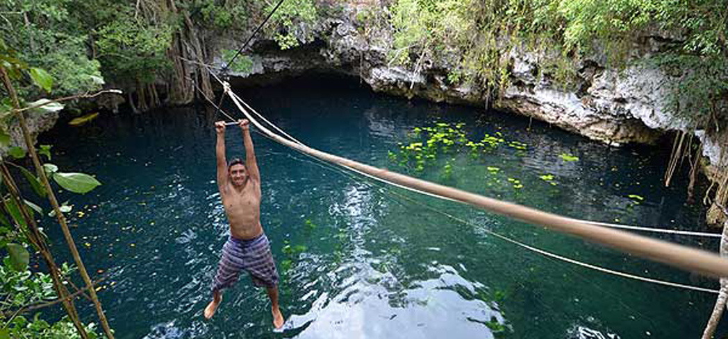 There are an estimated 7,000 cenotes on the Yucatán Peninsula