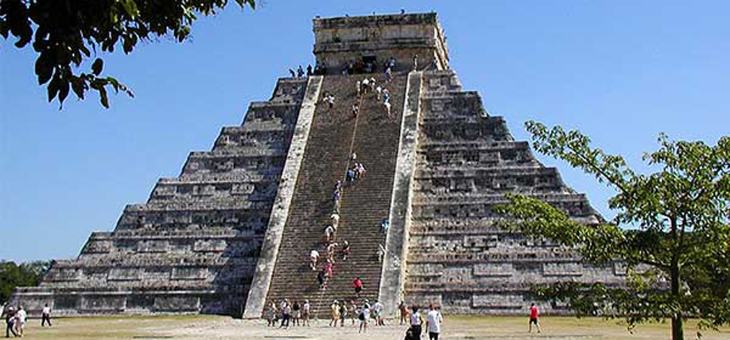 Chichen Itza is one of the new seven wonders of the world