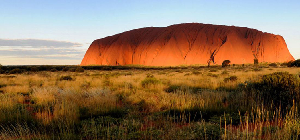 Uluru is an awe-inspiring sandstone rock formation