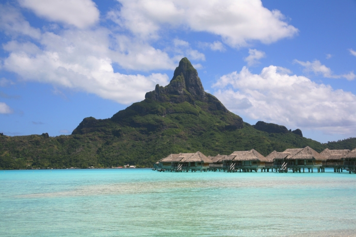 Vaitape is the largest city in Bora Bora, and is located on the Western side of the island